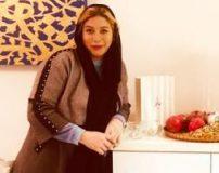 عکس شکم فریبا نادری در ماه پنجم بارداری