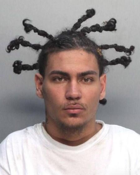 مدل موهای ترسناک روی سر مجرمان و تبهکاران + تصاویر