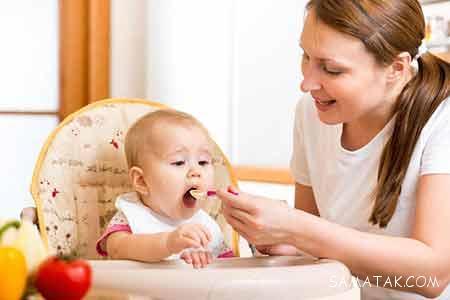 روش غذا دادن به کودک یک ساله