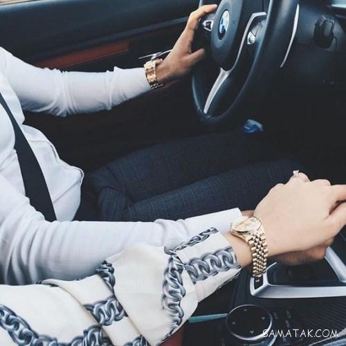 عکس دست های عاشقانه تو ماشین