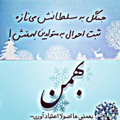 عکس پروفایل تولدت مبارک بهمن ماهی