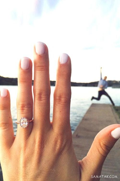عکس عاشقانه دختر و پسر کنار دریا