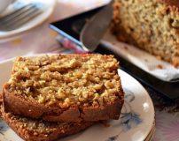 طرز تهیه کیک گردویی دارچینی ترد و خوشمزه