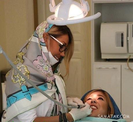 گالری عکس های دکتر رها رادفر دندانپزشک سلبریتی های ایرانی