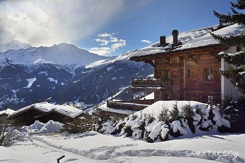 اقامتگاه های زمستانی در شهرهای برفی جهان + تصاویر