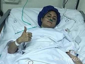 اوضاع جسمی و روحی الناز شاکردوست بعد از عمل جراحی