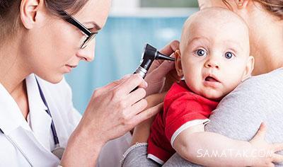 عفونت گوش کودک دوساله و علائم گوش درد در نوزادان