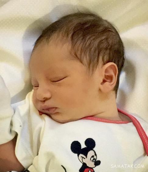 جدیدترین عکس دیاکو پسر سپهر حیدری فوتبالیست