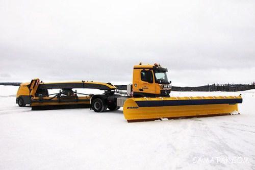 خودروهای برف روب سنگین فوق پیشرفته در دنیا + تصاویر