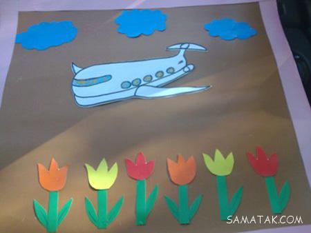 کاردستی 22 بهمن برای پیش دبستانی ها