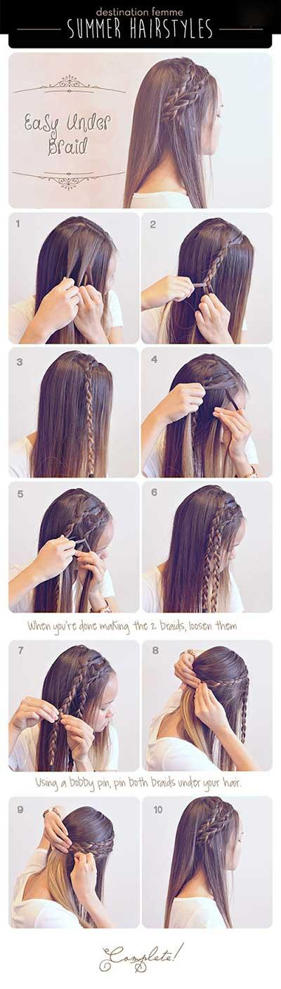 ژورنال تصاویر مدل موی دخترانه برای عید