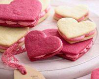 طرز تهیه دسر به شکل قلب (ویژه روز ولنتاین)