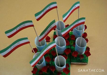 عکس کاردستی 22 بهمن