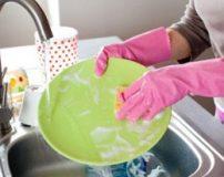 نحوه شستن ظرف ها در سینک ظرفشویی