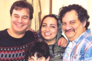نیروانا قاسم خانی و مادرش مریم گلرو همسر اول مهراب قاسم خانی