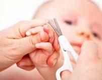 آموزش گرفتن ناخن نوزاد برای اولین بار (ویژه مادران)