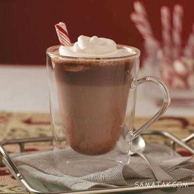 طرز تهیه شکلات داغ با شکلات تخته ای