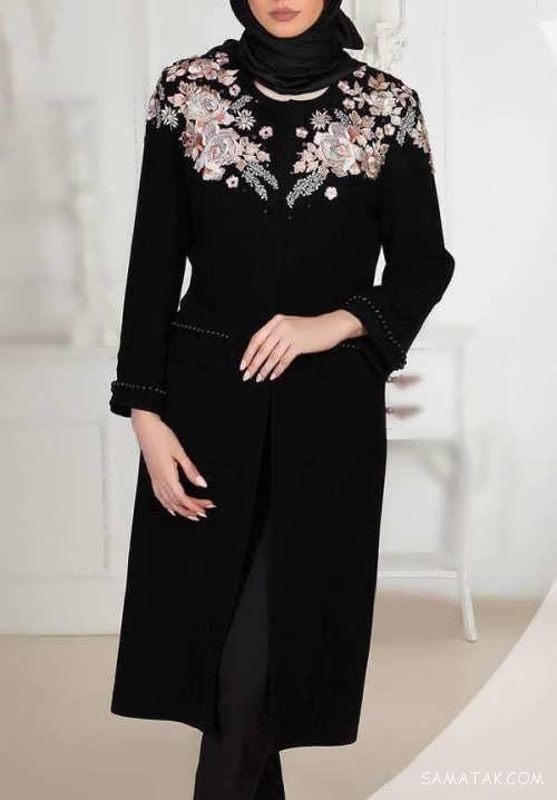 مدل مانتو 97 شیک و جذاب زنانه و دخترانه (60 مدل مانتو شیک 2018)