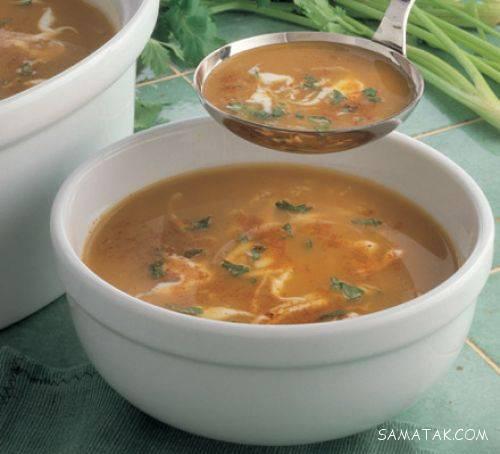 دستور پخت سوپ خوشمزه برای سرماخوردگی