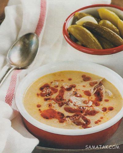 طرز درست کردن سوپ با گوشت گردن گوسفندی