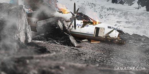عکس های اجساد و لاشه هواپیمای تهران یاسوج + فیلم