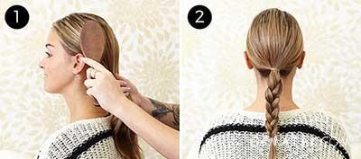 آموزش تصویری بستن مو مجلسی در پنج دقیقه (4 مدل موی جدید)