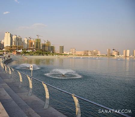 مسیر رفتن به دریاچه چیتگر با مترو + آدرس دقیق دریاچه چیتگر تهران