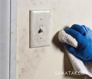 7 ترفند از بین بردن لکه های روی دیوار گچی