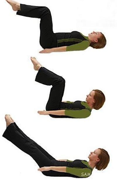 ورزش برای تقویت عضلات کمر و شکم قبل از بارداری