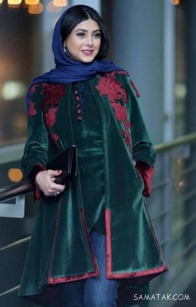 عکس انواع مدل مانتوهای بازیگران در عید 97
