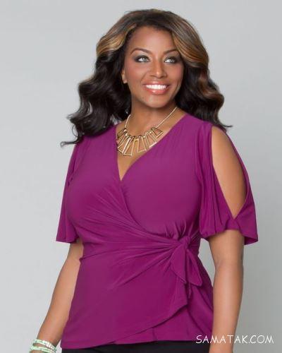 انواع مدل های تونیک سایز بزرگ 2018 - 97 زنانه با رنگ بندی جدید