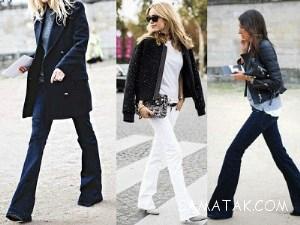 بهترین مدل های کفش برای شلوار دمپا گشاد زنانه