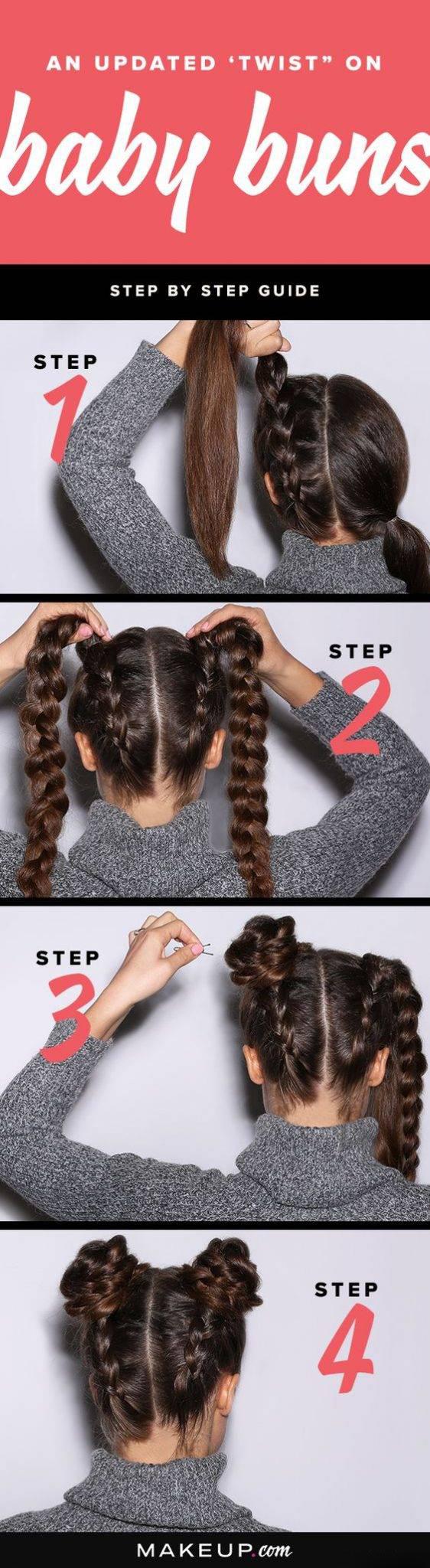 مدل موی گوجه ای خرگوشی + آموزش بافت مو مدل گوجه ای