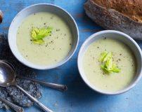 طرز پخت سوپ کرفس رژیمی