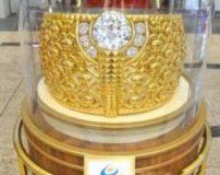 سنگین ترین حلقه طلا با 64 کیلوگرم وزن + تصاویر
