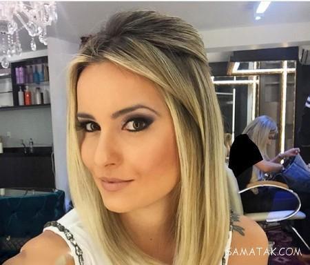 مدل مو باز و بسته دخترانه برای عروسی