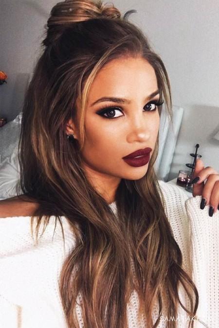 عکس مدل مو دخترانه باز و بسته
