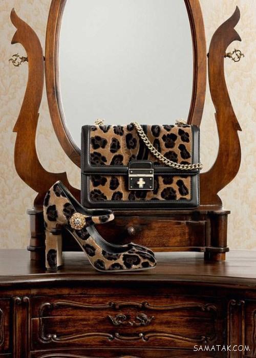 ست کیف و کفش زنانه 97 رنگ مد سال 1397