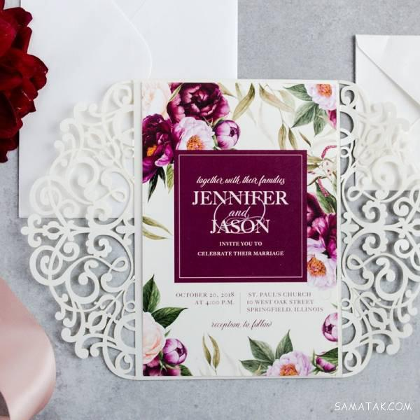 جدیدترین مدل کارت عروسی 2019