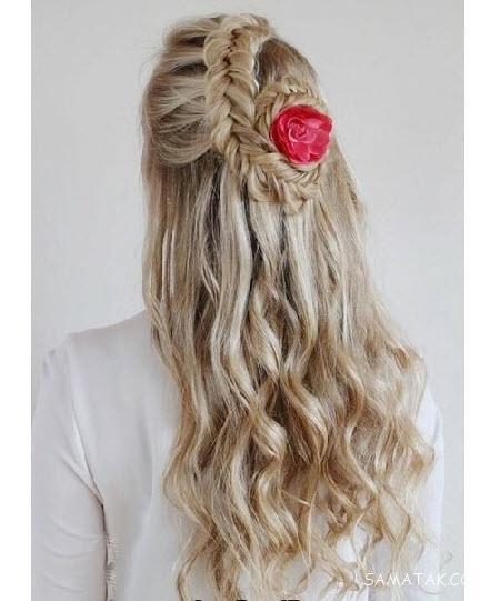 مدل مو باز و بسته دخترانه برای عروسی ویژه سال ۹۷ - ۹۸