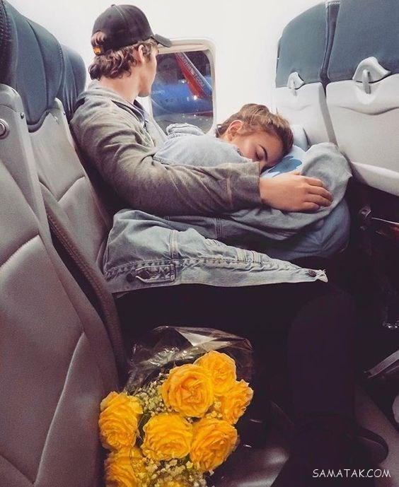 خوابیدن زن و شوهر بغل هم