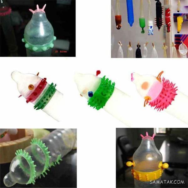 انواع کاندوم فضایی