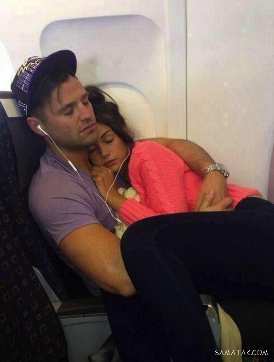 خوابیدن زن و شوهر کنار هم
