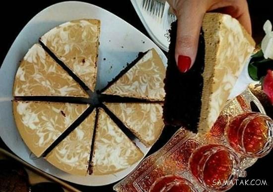 دسر تیرامیسو با پنیر ماسکارپونه
