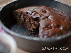 آموزش کامل طرز تهیه کیک خرما و گردو بدون شکر