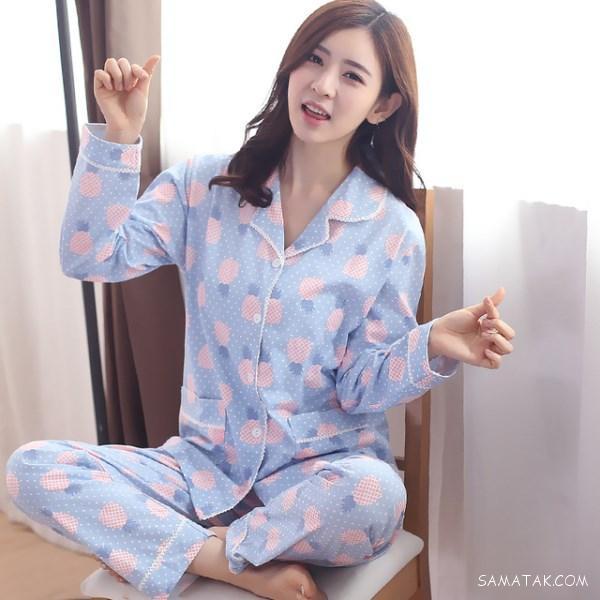 مدل لباس خواب توری زنانه تحریک کننده کره ای