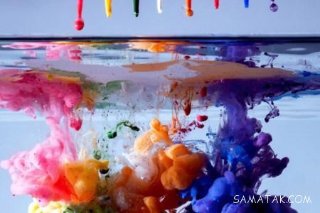 آموزش بازی سنتی رنگها