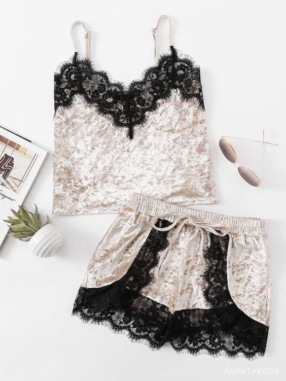 جدیدترین مدل لباس خواب توری زنانه تحریک کننده