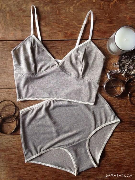 لباس خواب توری زنانه تحریک کننده