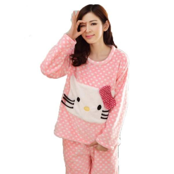 لباس خواب توری دخترانه کره ای